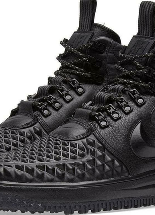 Nike Lunar Air Force 1 Duckboot Black кроссовки, ботинки