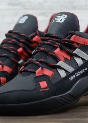 New balance стильные модные кожаные кроссовки для ярких мужчин
