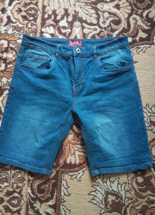 Шорты мужские джинсовые