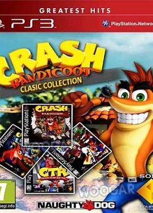 CRASH BANDICOOT золотая коллекция 4 игры PS3