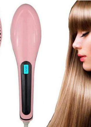 Электрическая расческа выпрямитель fast hair straightener hqt-...