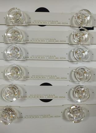 LM41-00253A / LM41-00254A Подсветка для Samsung ue50mu6100