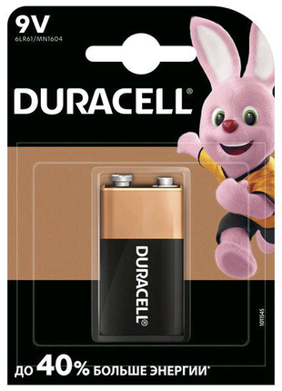 Крона DURACELL Alkaline 9V