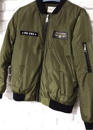Куртка- бомбер