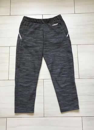 Женские укороченные брюки штаны adidas