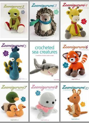 Книги Амигуруми животные Zoomigurumi на английском языке.  PD...