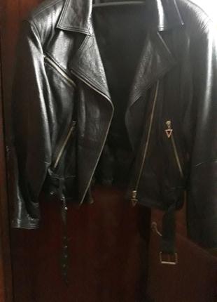 Куртка косуха кожа натуральная