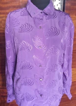 Блузка яркая необычная