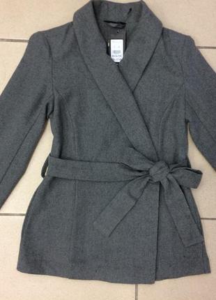 Пальто на запах , блейзер new look (896)