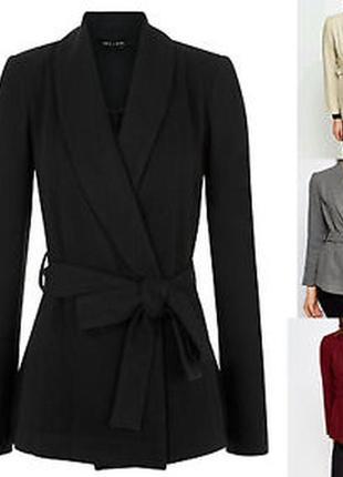 Пальто на запах , блейзер new look {896}