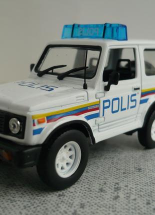 Suzuki Samurai 1:43 полиция Малайзии