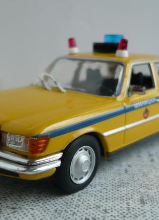 Mercedes-Benz 450 SEL (W116) 1:43 милиция СССР