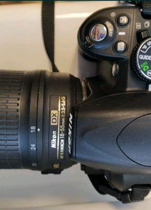 Цифровий фотоапарат Nikon D3100