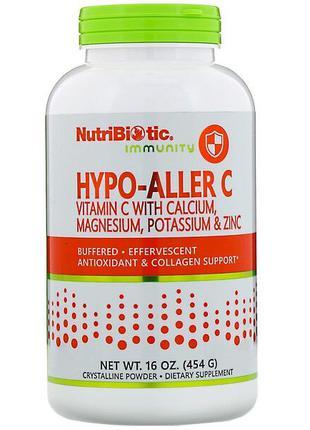 NutriBiotic, Immunity, витамин C с кальцием, магнием и цинком