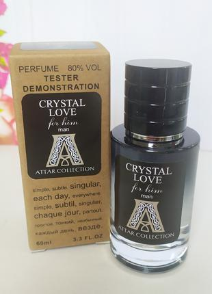 Attar collection - Crystal Love for him