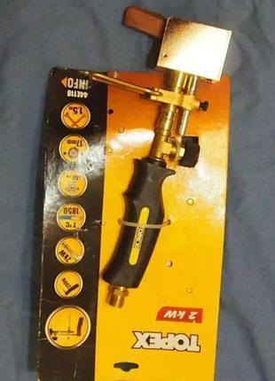 Газовый паяльник для пайки Topex 44E118