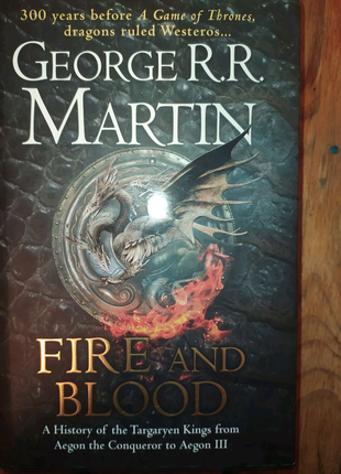 Книга Georgia R.R.Martin Fire and Blood