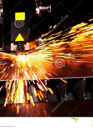 Лазерная резка металлов. Кривой рог.
