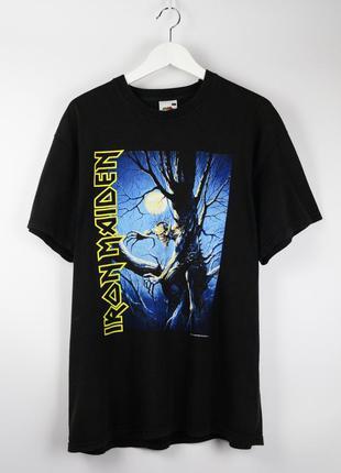 Винтажая футболка iron maiden 2002 года fear of the dark