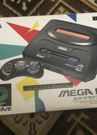 Sega Mega Drive NTSC J original Like New!!!