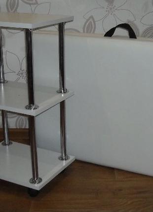 Кушетка и тележка без стула