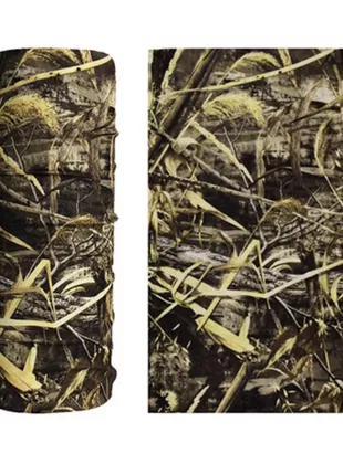 Защитный шарф/повязка/бандана Камуфляж №2 из Микрофибры Рогатка Л