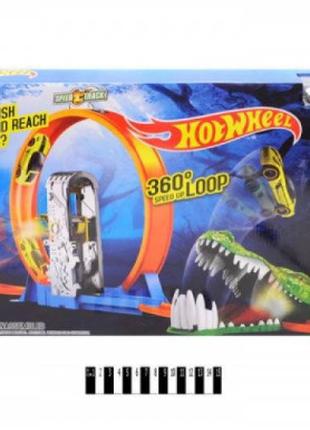 Гоночный трек Hot Wheel 6763 Крокодил хот вилс 2 металлические ма