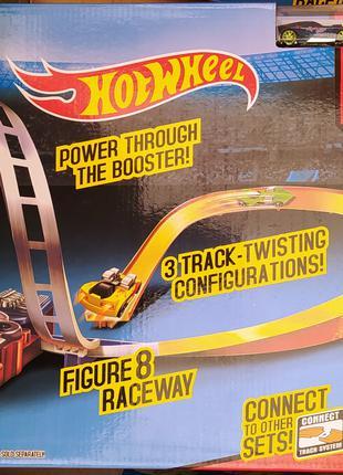 Гоночный трек Hot Wheel 5773 хот вилс 2 металлические машинки