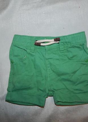 Шорты джинсовые на малыша 12-18 мес