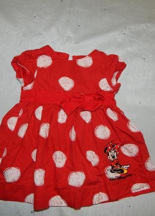 Платье на малышку 3-6 мес