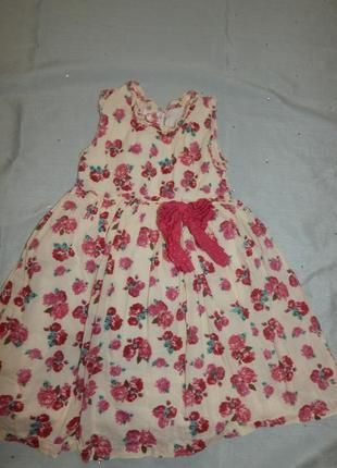Платье легкое на девочку 2-3 года powell graft