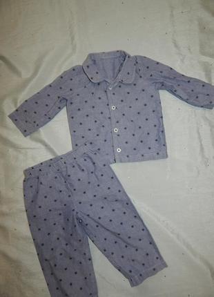 Пижама на мальчика 12-18мес