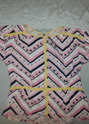 Блузка на девочку 7 лет