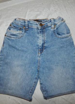 Шорты джинсовые на мальчика 12 лет 152см