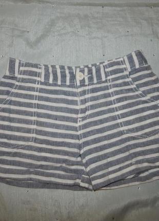 Летние модные шорты на девочку 10 лет