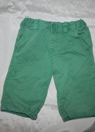 Летние джинсовые шорты на мальчика 7-8 лет