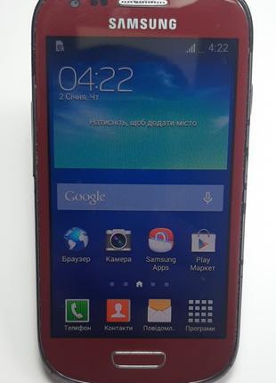 Смартфон Samsung Galaxy S3 Mini Neo червоний б/в