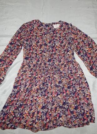 Платье на девочку вискозное 8-9 лет 134 см