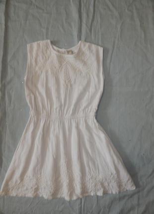 Платье на девочку 8 лет 128 см