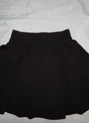 Юбка школьная модная сонцеклеш на  12-13 лет 152- 158см 915gen...