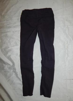 Джинсы джегинсы штаны модные школьные 6-7 лет 122 см