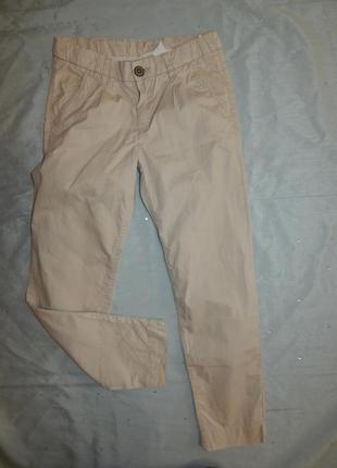 Штаны брючки модные на девочку 9-10 лет 140см
