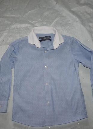 Рубашка модная на мальчика 4года  104см