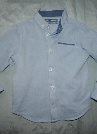 Рубашка на мальчика модная 4-5 лет