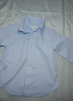 Рубашка на мальчика 4 года  104см