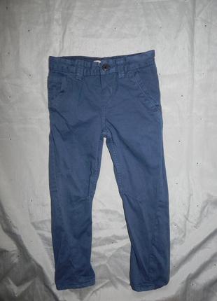 Брюки модные на мальчика slim 4-5 лет 110см