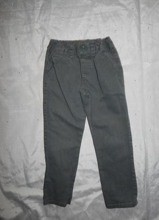 Штаны брюки модные на мальчика slim 3-4 года 104см