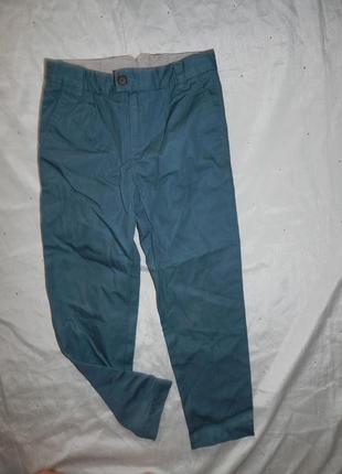 Брюки штанишки на мальчика модные 8-9 лет autograph 134см