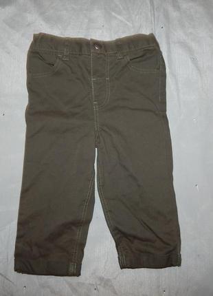 Штанишки брюки коттоновые на малыша 9-12 мес 80см