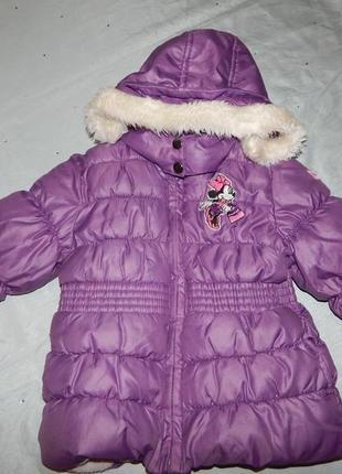 Куртка на малышку 2 годика 92см демисезонная